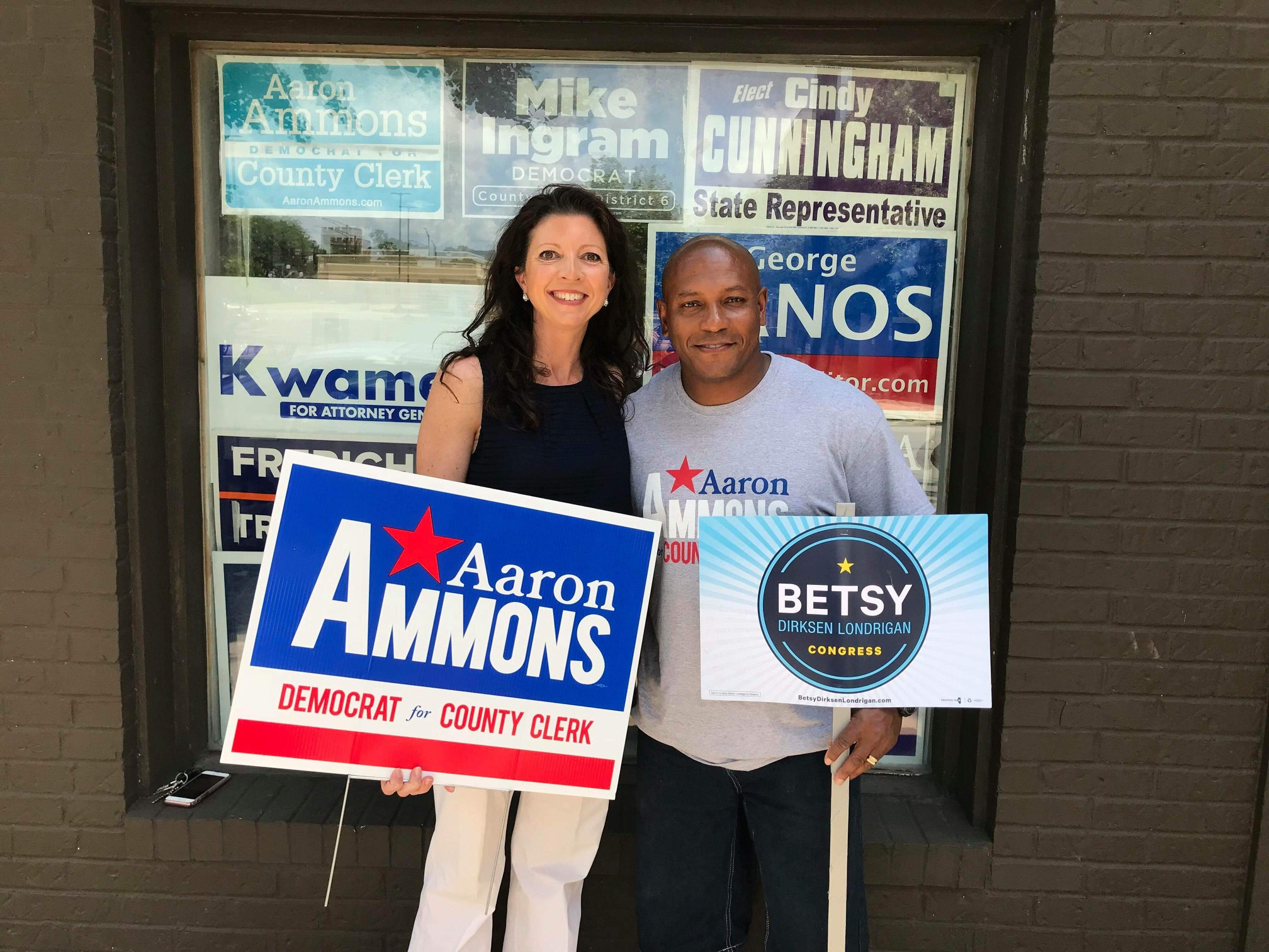Day of Action - Canvass for Betsy and Aaron in Champaign