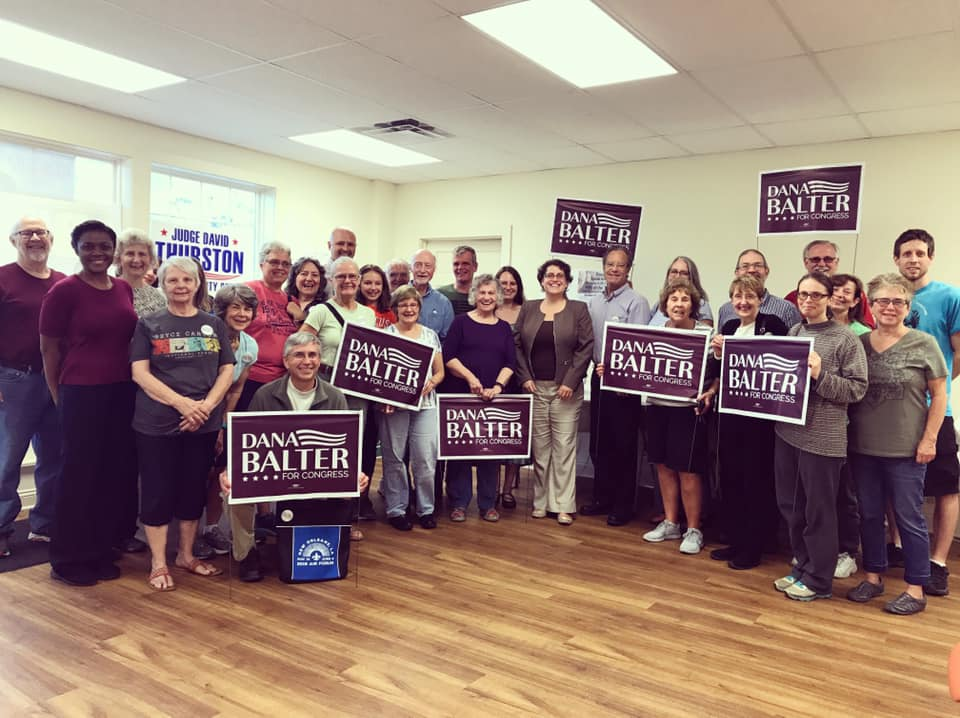 GOTV  Canvassing in Cayuga County