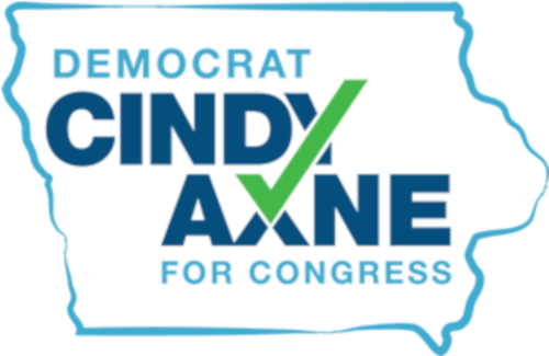 West Des Moines Canvass for Cindy Axne