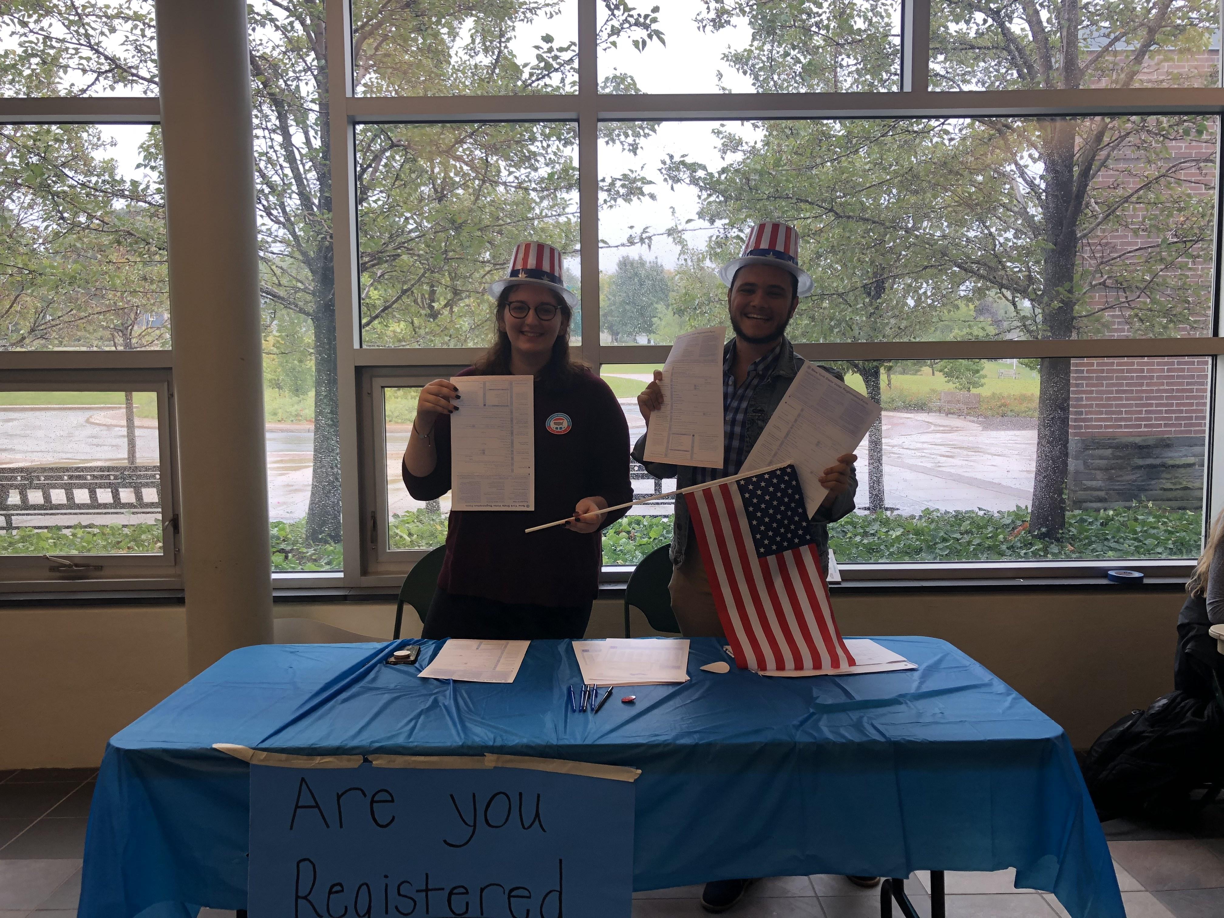 Voter Registration at OCC