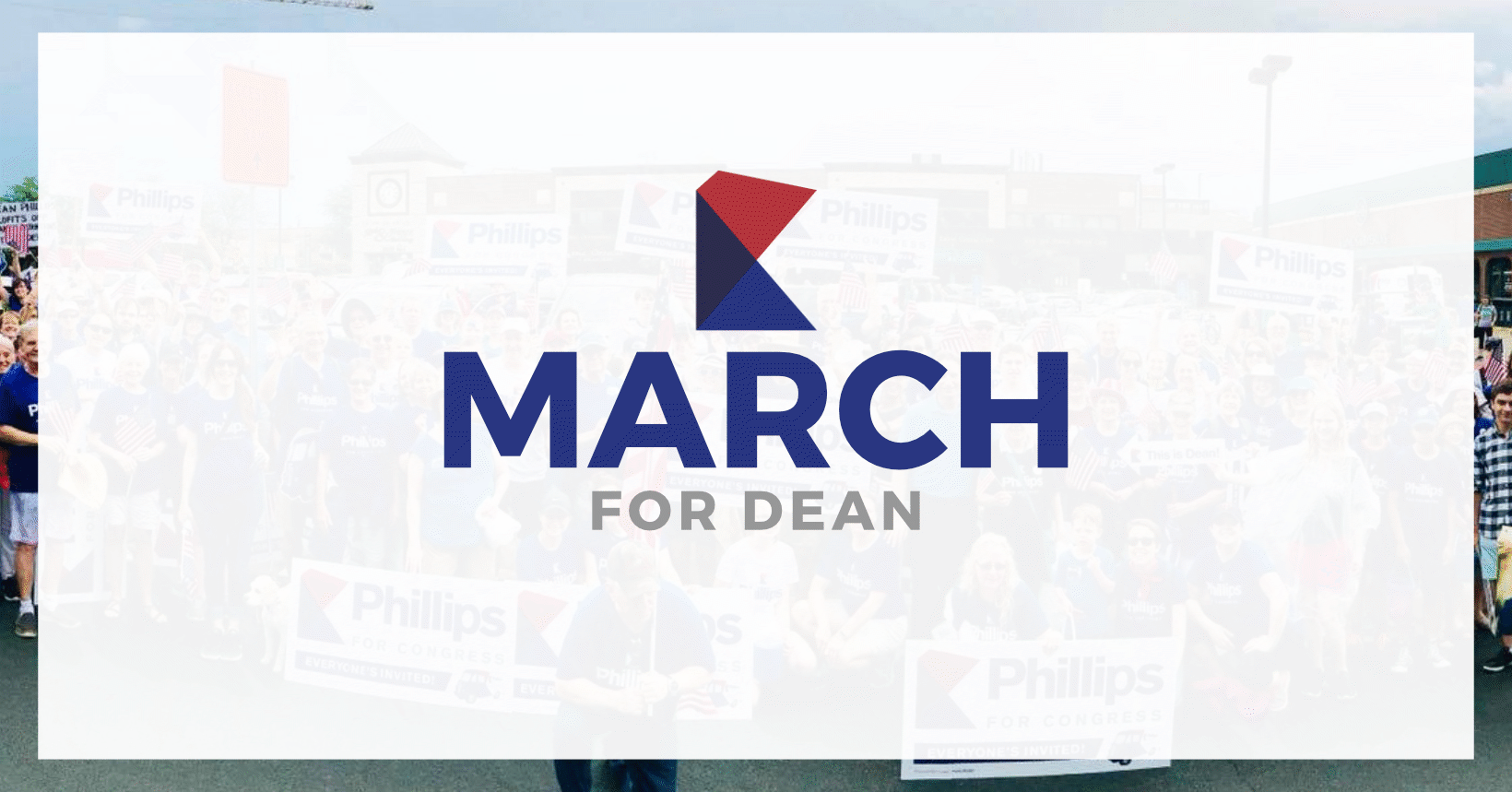 March with Dean in the Bloomington Heritage Day Parade