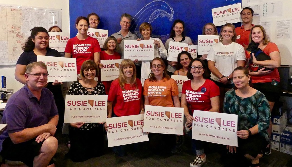 Moms Demand Action September Phone Bank for Susie Lee