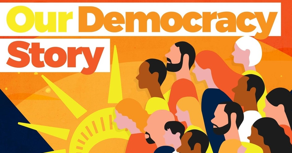 Our Democracy Story Host Call organized by Declaration for American Democracy Coalition
