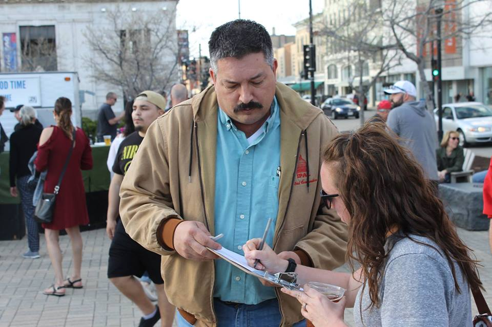 Sunday Canvass for Randy Bryce!