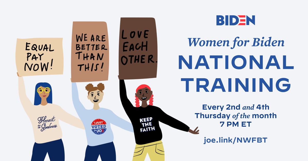 National Women for Biden Bimonthly Training · Joe Biden for President