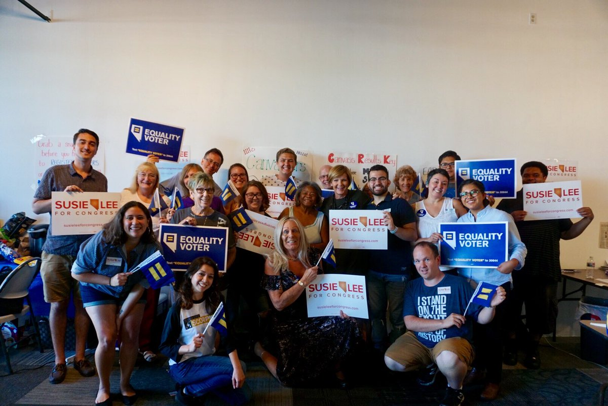 Human Rights Campaign #TeamSusie #NV03 Joint Phone Bank