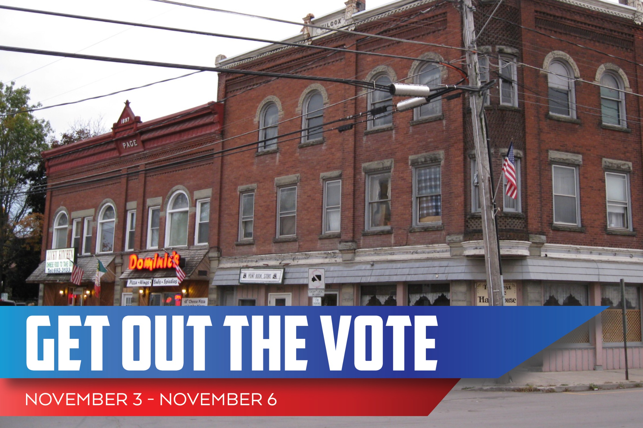 Whitney Point GOTV — Election Day Canvassing