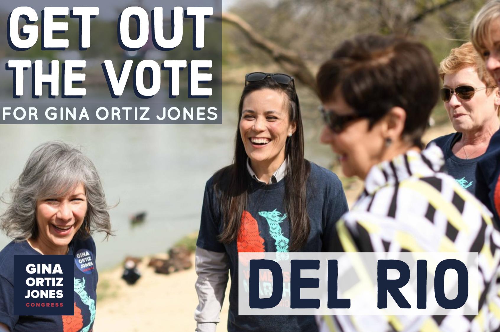 Del Rio GOTV Phonebank for Gina Ortiz Jones