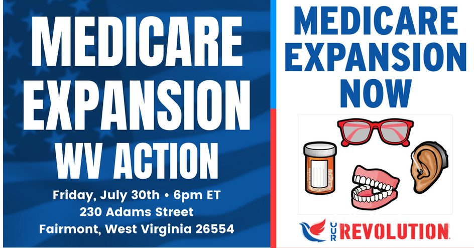 Medicare Expansion Rally organized by Our Revolution