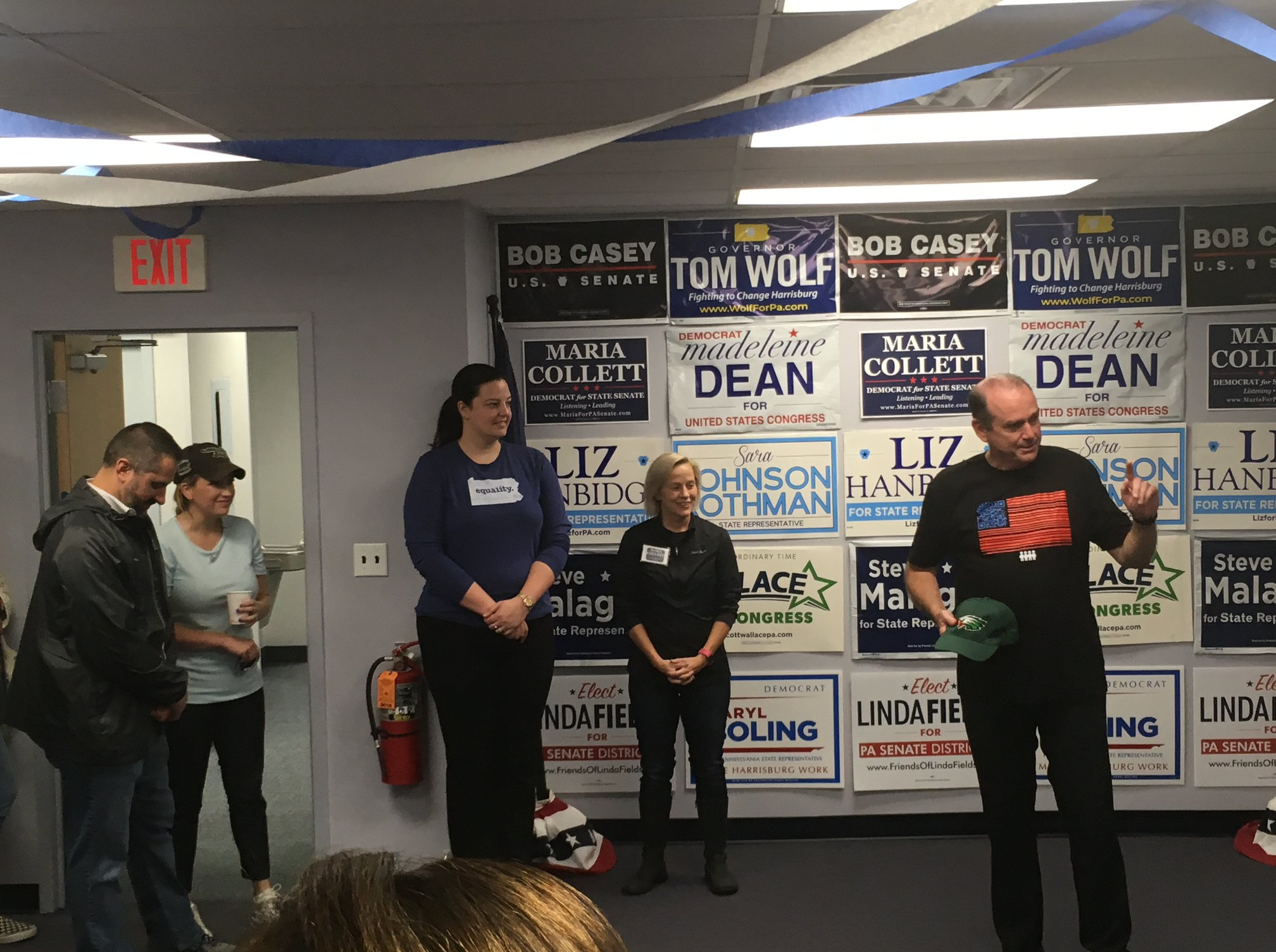 Weekday Canvassing and Phonebanking for Scott in Quakertown