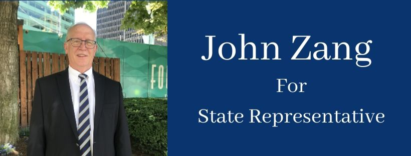 John Zang For 99th State House District Representative @ Virtual Campaign Kick Off