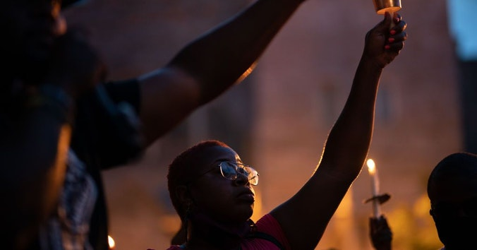 Good Trouble: Candlelight Vigil for Democracy organized by John Lewis Mobilization